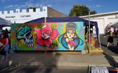 Mural Expressions/ARTners Collaborates with Back to the Blvd